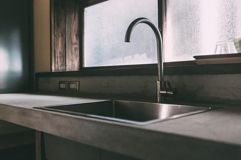 新潟 ゲストハウス なり Kitchen